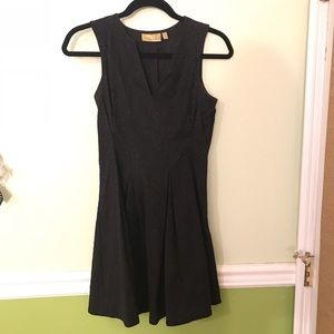 Vera Wang formal black dress